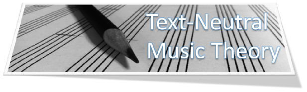 Text Neutral Music Theory